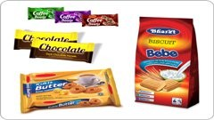 Biscuits Confectionary Pouches